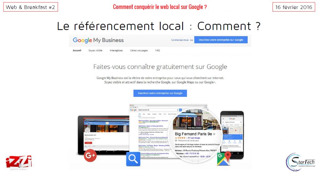 référencement local comment